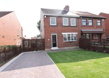 Thumbnail 3 bed semi-detached house for sale in Washington Avenue, Wombwell, Barnsley