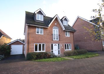 Thumbnail 5 bed detached house for sale in Kingsley Way, Whiteley, Fareham