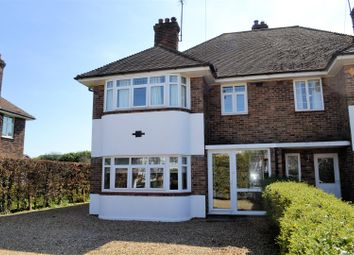 Thumbnail 4 bed semi-detached house for sale in Driftway, Wootton Road, South Wootton, King's Lynn