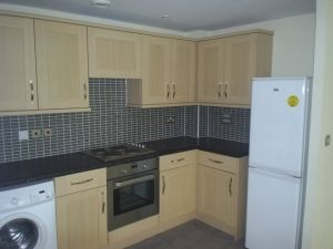 Thumbnail 3 bed flat to rent in Lockwood House, Harry Zeital Way