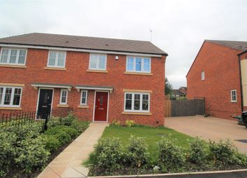 Thumbnail 4 bed semi-detached house to rent in Burnell Way, Dudley