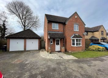 Thumbnail 4 bed detached house to rent in Trefoil Drove, Thatcham