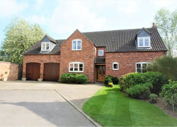 Thumbnail 4 bed detached house for sale in Manor House Drive, Wysall