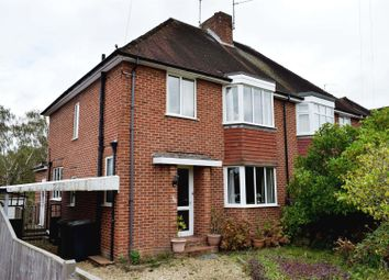 Thumbnail 3 bed semi-detached house for sale in Bartlemy Road, Newbury