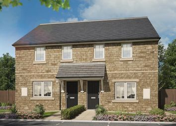 "Thumbnail 3 bed semi-detached house for sale in ""Ivy"" at Manywells Crescent, Cullingworth, Bradford"
