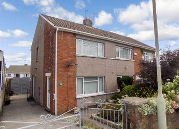 Thumbnail 2 bed semi-detached house for sale in Llangewydd Road, Bridgend, Bridgend County.