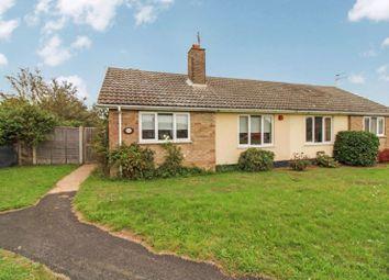 Thumbnail 1 bed semi-detached bungalow for sale in Colman Road, Corton, Lowestoft