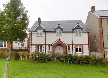 Thumbnail 4 bed detached house for sale in Lon Yr Ardd, Coity, Bridgend.