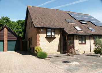 Thumbnail 3 bed semi-detached house for sale in Charnock Close, Hordle, Lymington