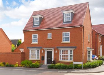"Thumbnail 4 bed detached house for sale in ""Hertford"" at The Long Shoot, Nuneaton"