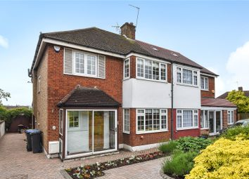 Thumbnail 3 bed semi-detached house for sale in Chandos Avenue, London