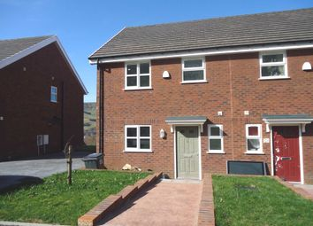 Thumbnail 3 bedroom semi-detached house to rent in Oak Road, Blaina, Abertillery, Blaenau Gwent