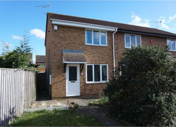 Thumbnail 2 bed end terrace house for sale in Carman Close, Swindon
