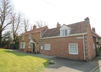 Thumbnail 3 bed detached house for sale in Main Street, Ewerby, Sleaford