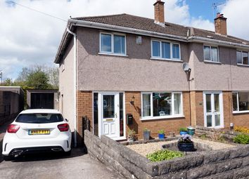 Thumbnail 3 bed end terrace house for sale in Dryden Road, Penarth