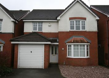 Thumbnail 4 bedroom detached house to rent in Thorncroft Way, Walsall