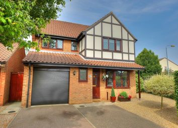 Thumbnail 4 bed detached house for sale in Drewray Drive, Norwich