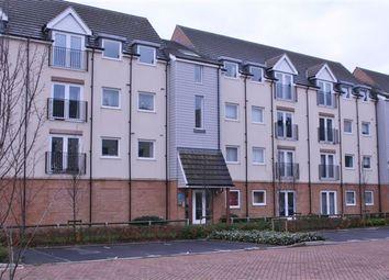 Thumbnail 1 bedroom flat for sale in Graduate Court, Tudor Crescent, Cosham, Portsmouth, Hampshire