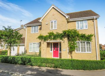 Thumbnail 4 bed detached house for sale in Pathfinder Way, Warboys, Huntingdon