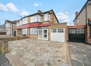 Thumbnail 3 bed semi-detached house for sale in Cranley Drive, Ruislip