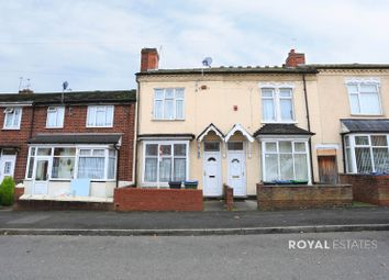 Thumbnail 3 bed terraced house for sale in Cheshire Road, Smethwick