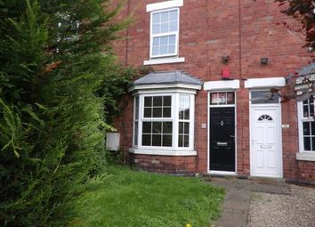 Thumbnail 3 bedroom terraced house for sale in Egypt Road, Basford, Nottinghamshire