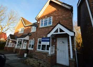 Thumbnail 2 bed semi-detached house to rent in Meremanor, Worsley, Manchester