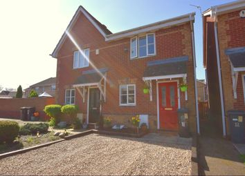 Thumbnail 2 bedroom semi-detached house for sale in Pretoria Close, Leicester