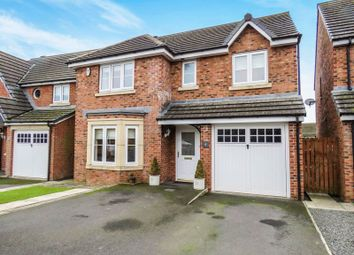Thumbnail 4 bed detached house for sale in Tyelaw Court, Shilbottle, Alnwick