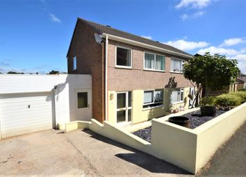 Thumbnail 3 bed semi-detached house to rent in Sparke Close, Plymouth, Devon