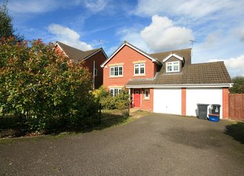Thumbnail 5 bed detached house to rent in Galingale View, Newcastle, Staffordshire