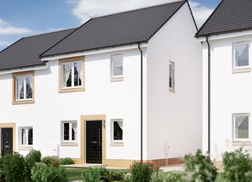 """Thumbnail 3 bedroom terraced house for sale in """"The Knightsbridge"""" at Glasgow Road, Denny"""