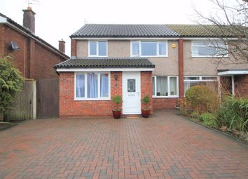 Thumbnail 3 bed semi-detached house for sale in The Court, Fulwood, Preston