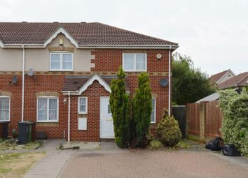 Thumbnail 2 bed end terrace house for sale in Stern Close, Barking, Essex
