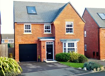 Thumbnail 4 bedroom detached house for sale in Cae Babilon, Higher Kinnerton, Chester