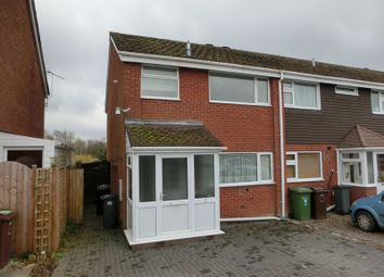 Thumbnail 3 bed end terrace house for sale in Heron Close, Cheswick Green, Solihull