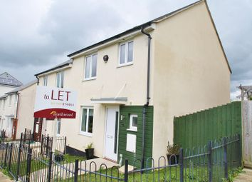 Thumbnail 3 bed property to rent in Whitehaven Way, Plymouth