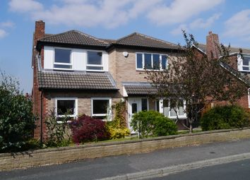 Thumbnail 4 bed detached house for sale in Templegate Close, Leeds