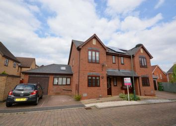 Thumbnail 3 bed semi-detached house to rent in Amberley Walk, Kingsmead, Milton Keynes