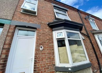 Thumbnail 3 bed terraced house to rent in Thornton Street, Darlington