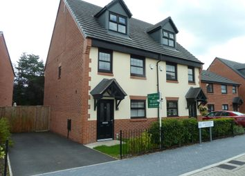Thumbnail 3 bed town house to rent in Hawthorn Avenue, Hazel Grove, Stockport