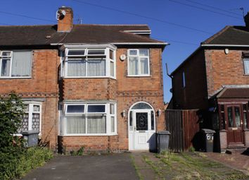 Thumbnail 4 bed semi-detached house for sale in Highbury Road, Leicester