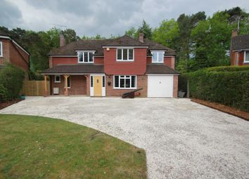 Thumbnail 5 bed detached house to rent in Wildwood Close, Pyrford, Woking