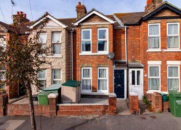 Thumbnail 2 bed terraced house for sale in Albert Road, Folkestone
