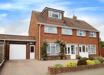 Thumbnail 4 bed semi-detached house for sale in Meadow Way, Littlehampton