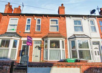 Thumbnail 2 bedroom terraced house for sale in Burford Road, Nottingham
