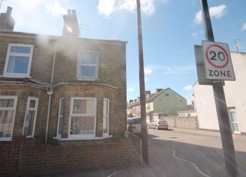Thumbnail 2 bed terraced house to rent in Cambridge Road, Lowestoft