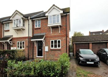 Thumbnail 3 bed end terrace house for sale in Stockers Lane, Woking, Surrey