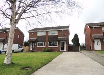 Thumbnail 2 bed semi-detached house for sale in City Avenue, Denton, Manchester