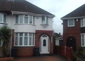 Thumbnail 3 bed semi-detached house for sale in Wilnecote Grove, Perry Barr, Birmingham